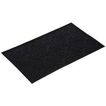 """Коврик придверный резиновый 35*60 см, черный, """"Узор"""" VORTEX 22461"""
